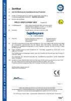 ATEX 2014/34/EC (Certification explosion protection)