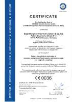 PED 2014/68/EU annex III module H/H1 (certification for design, manufacture and service of pressure equipment of seal supply, mechanical seals and magnetic couplings) )