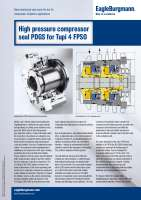 Solution: High pressure compressor seal PDGS for Tupi 4 FPSO