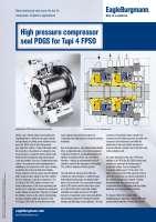 Solution: High pressure compressor seal PDGS for Tupi 4 FPSO
